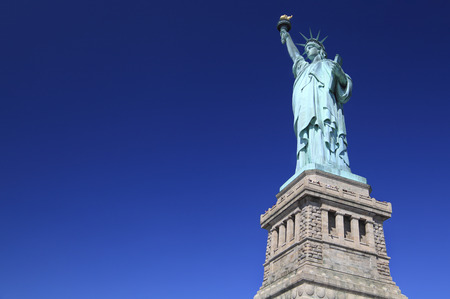 emigration: Statue of Liberty, New York City, USA