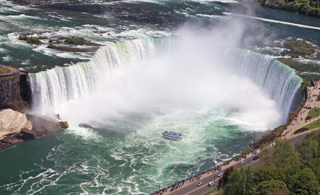 horseshoe falls: Horseshoe Falls in Niagara