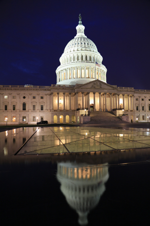 congressional: US Capitol Building at dusk, Washington DC