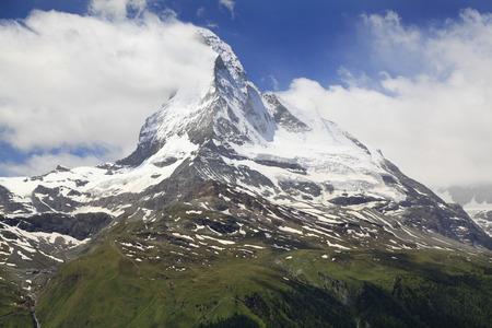 pyramid peak: Matterhorn, Alps, Switzerland
