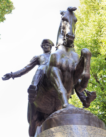 riel: Paul Riel Statue in Boston, USA