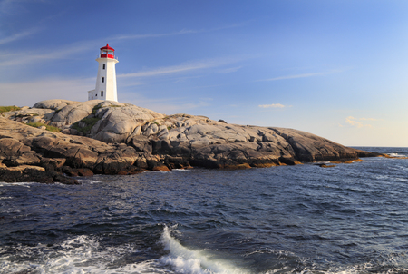 Peggy Cove Lighthouse, Nova Scotia, Canada