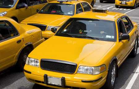 Yellow taxi, New York City