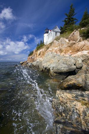maine: Bass Harbor Lighthouse, Maine, USA