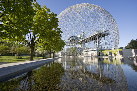 miror: The Biosphere is a museum in Montreal dedicated to the environment