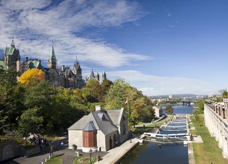 rideau canal: Rideau canal locks, Ottawa