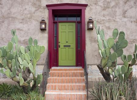 tucson: Old house in Tucson, Arizona Stock Photo