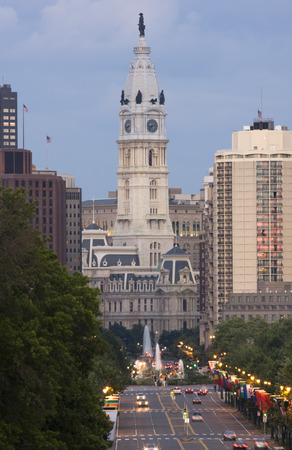 the franklin: City Hall of Philadelphia