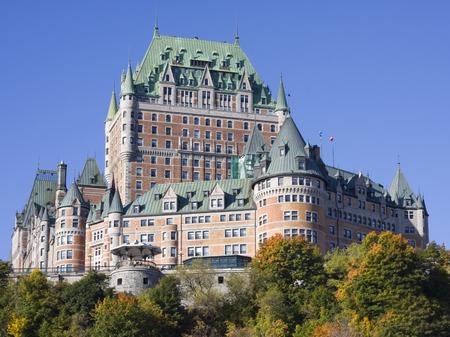 quebec: Chateau Frontenac in autumn, Quebec City