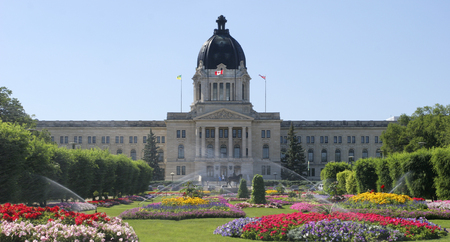 Saskatchewan Parliament, Regina, Canada Editorial