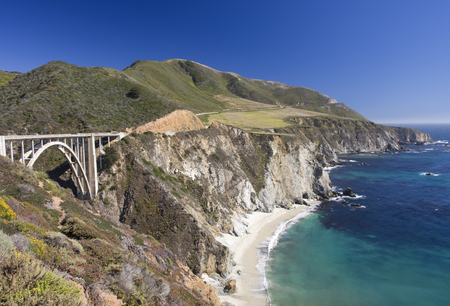 bixby: Big Sur, Bixby Bridge, California shoreline