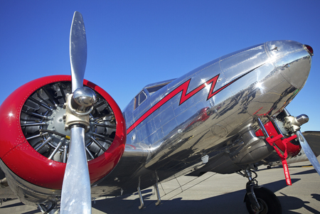 flew: Air Show at Gatineau, Canada. The Lockheed Electra Model 12, flew for the first time on June 1936.