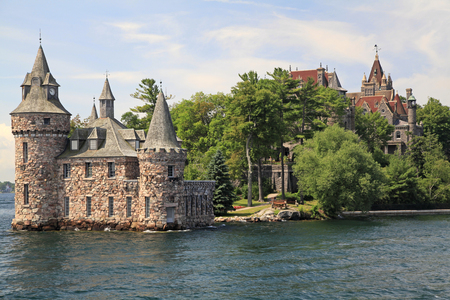Power House of Boldt Castle in Thousand Islands, New York, USA