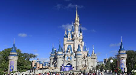 castles: Cinderella Castle, Disney World Magic Kingdom, Orlando