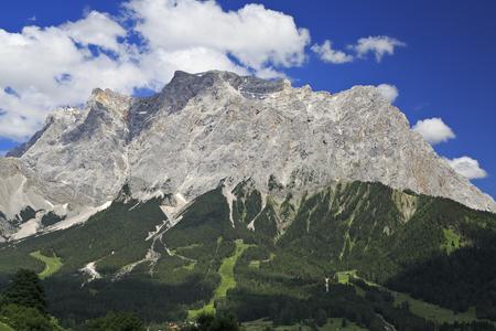zugspitze mountain: Zugspitze  Mountain, Germany