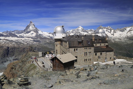 matterhorn: Matterhorn peak from Gornergrat Mountain, Switzerland