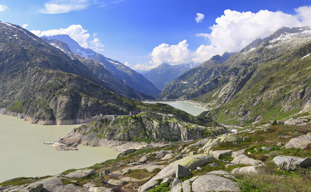 Grimsel Pass, Alps Mountains, Switzerland