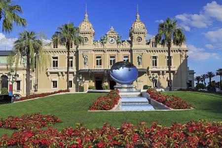 The Grand Casino in Monte Carlo, gambling and entertainment complex in Cote d Azur
