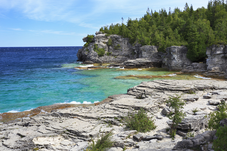 Indian Head Cove in Georgian Bay, Lake Huron, Canada