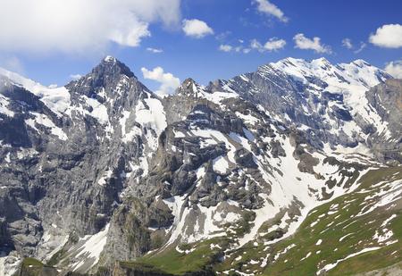 Alps Mountains, view from Gloria Pitz, Schilthorn, Switzerland