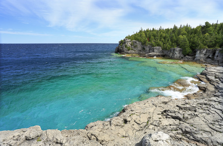 Indian Head Cove in Georgian Bay, Lake Huron, Canada