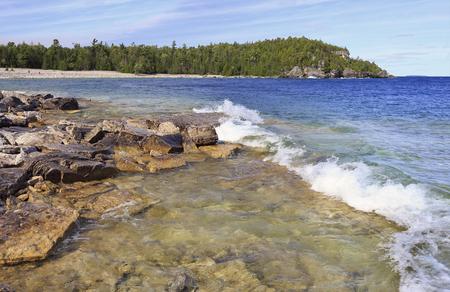 Georgian Bay, Lake Huron, Canada Stock Photo