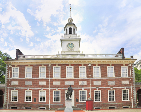 Independence Hall in Philadelphia, United States of America