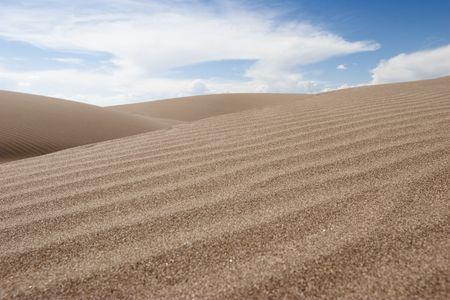 Sable vague en Great Sand Dunes le parc national et r�serve Colorado, �.-u.