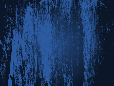 smirch: dark blue vector grunge texture or old blue paint wall Illustration