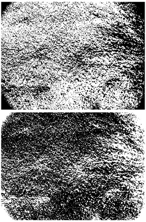 dirt background: vector grungy texture, black grunge effect, isolated on white background