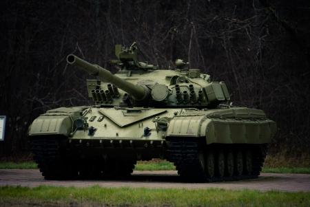 guerrilla: Russian tanks - a memorial complex Guerrilla Glade