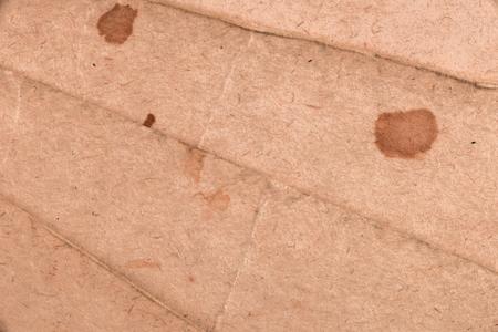 celulosa: la imagen de textura. Primer plano de papel manchado de edad.
