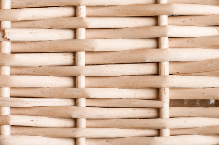 textural: Textural image. Closeup of straw basket surface. Stock Photo