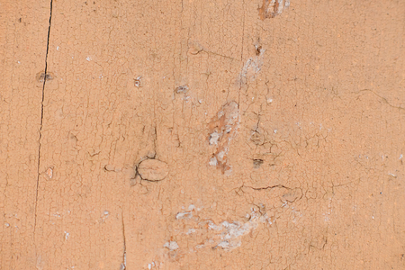 worn structure: Textural image. Closeup of smooth surface of obsolete painted wall.