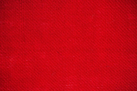 fabric surface: Macro flat view of wool fabric surface in wine red