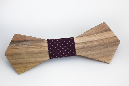 fop: man hipster wooden bow tie accessory bridegroom