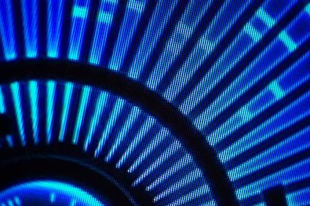 Light emitting diodes for LED display. Digital LED screen background