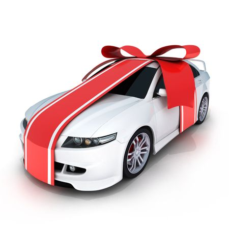 dream car: Regalo   Foto de archivo