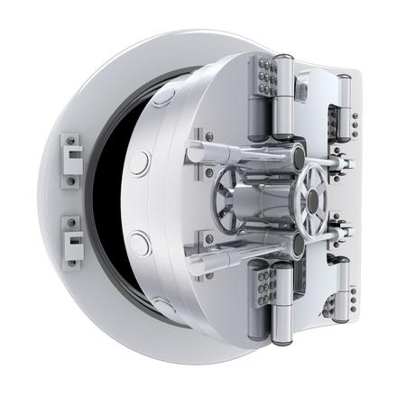 caja fuerte: Bancos met�licos para puertas, caja fuerte (que se hace en 3D)