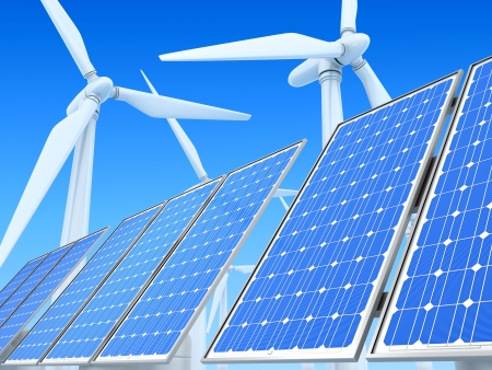 solar array: Ecologically clean power engineering
