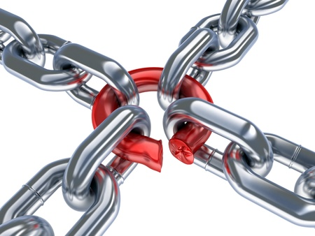 Bad chain  done in 3d,isolated