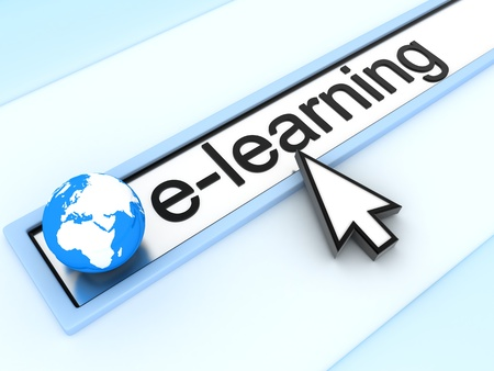 WWW e-learning (done in 3d) photo