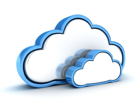 web services: Abstract cloud storage  done in 3d