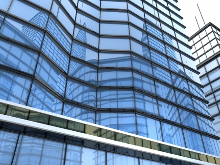 cgi: Office building CGI (done in 3d)