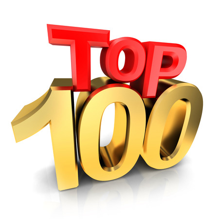 top of the year: Top 100 of the year (done in 3d)