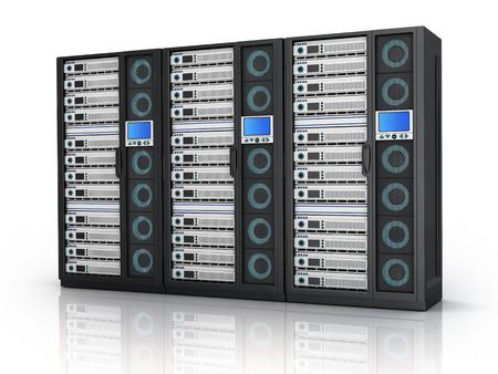 highend: Server di fascia alta solo (fatto in 3d, isolato)