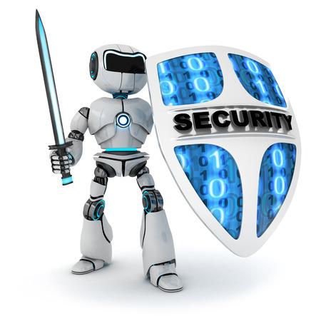 robot: Resumen de robot y escudo