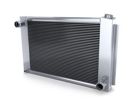Autokühler (done in 3d, auf weißem Hintergrund)