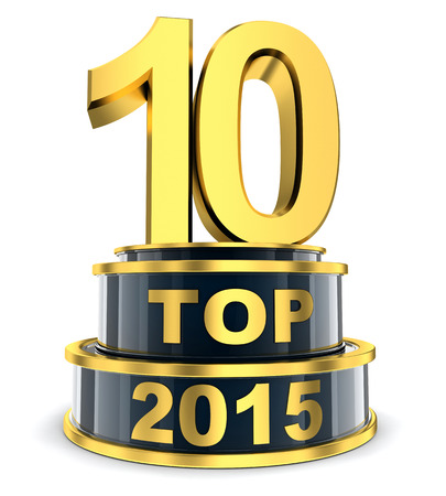 ten best: Top 10 of the year (done in 3d)