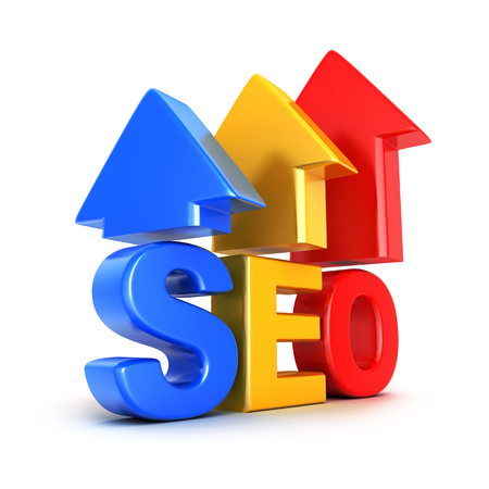 rise to the top: Search engine optimization symbol (done in 3d rendering)